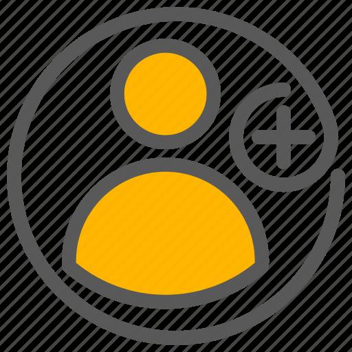 account, avatar, friend, user icon