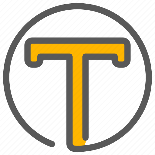 align, font, text, write icon