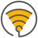 connection, online, wifi, wireless icon