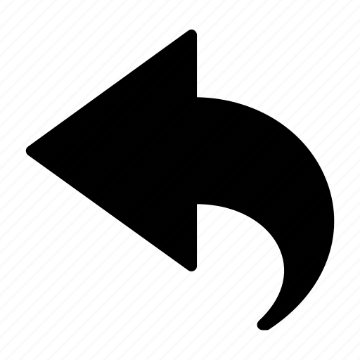 arrow, back, down, left, move icon