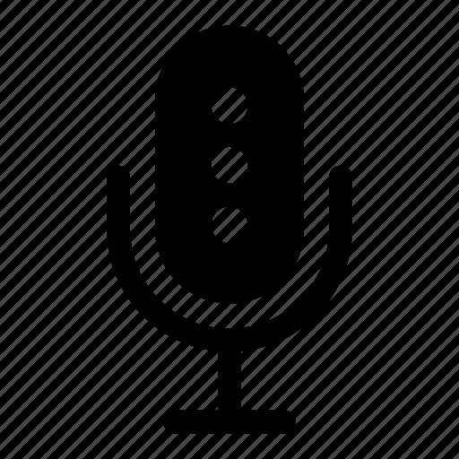 audio, mic, microphone, music, sound, speaker icon