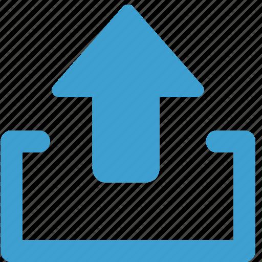 arrow, cloud, upload, uploading icon
