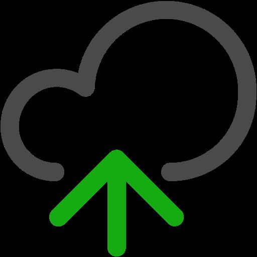 cloud, sharing, upload icon