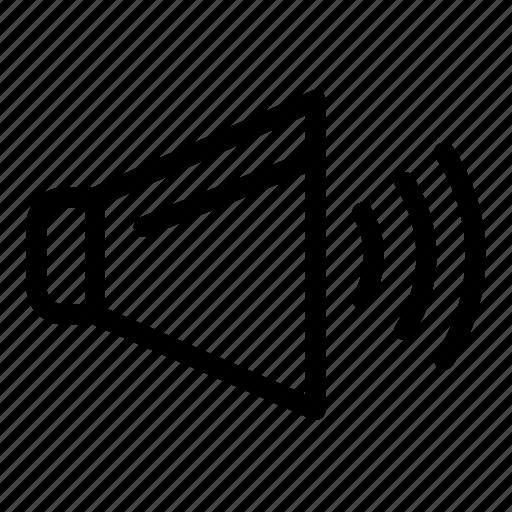 On, sound, speaker, volume icon - Download on Iconfinder