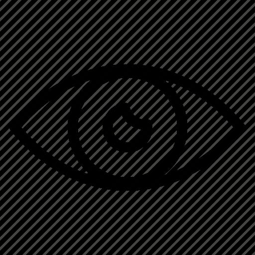 App Basic Design Eye Mobile Icon Download On Iconfinder