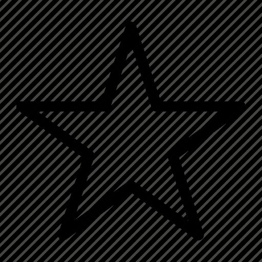bookmark, media, star icon