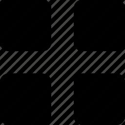 apps, grid, menu, options, tool icon
