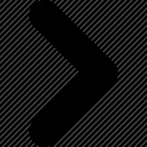 arrow, control, direction, go, next, right icon