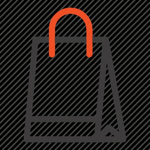 bag, buy, hand, shopping icon