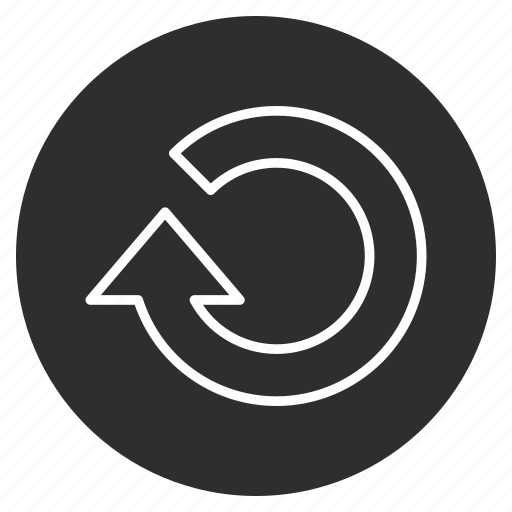 arrow, circle, move, refresh icon