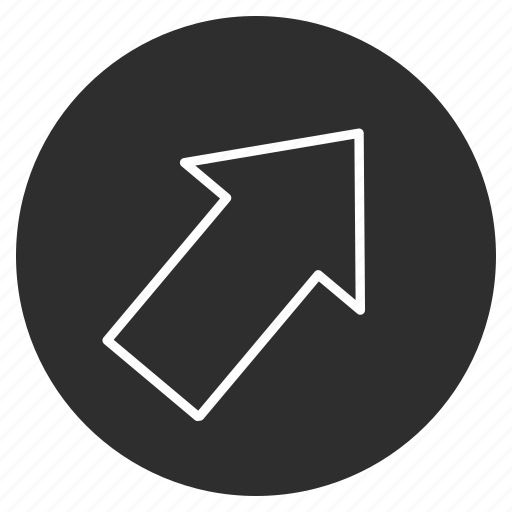 Arrow, direction, right, up icon - Download on Iconfinder