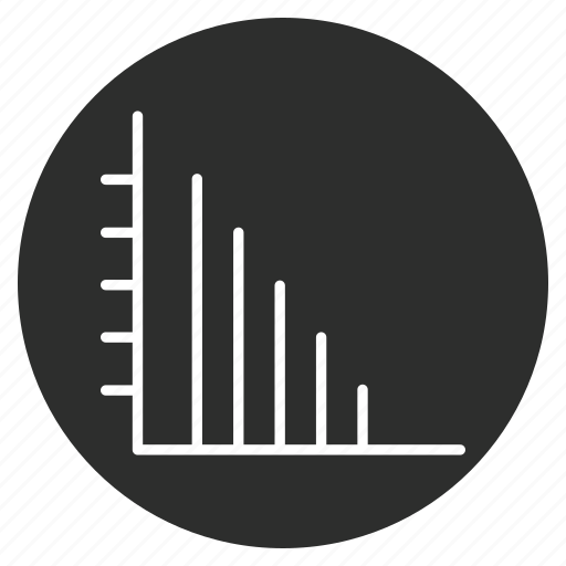 analytics, average, graph, report icon