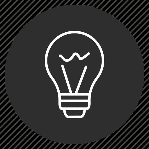 Blub, solution, idea, creative icon