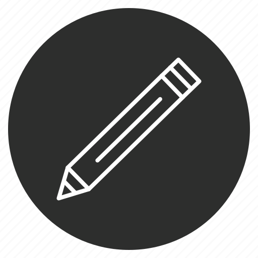 Edit, pencil, pen, write icon