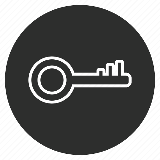 Safe, key, protection, secure icon