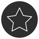 star, bookmark, rating, favorite