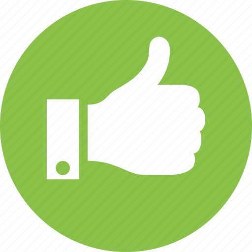 like, thumb, thumbs, up, vote icon