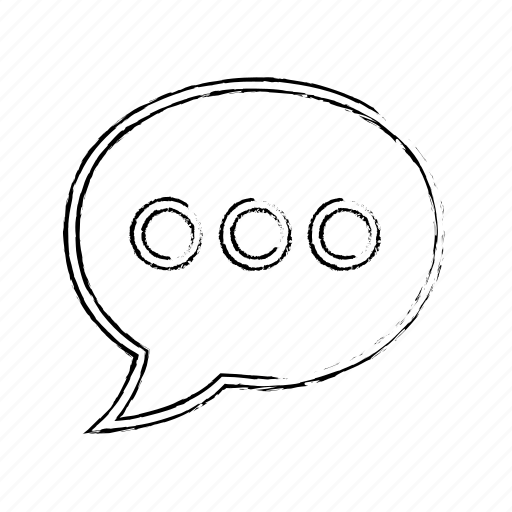Message, bubble, chat icon