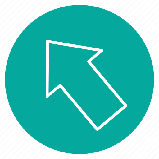 Arrow, direction, left, up icon - Download on Iconfinder