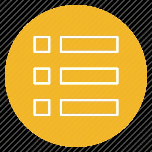 Bullet, list, menu, options icon - Download on Iconfinder