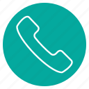 call, communication, connection, message, mobile, phone icon