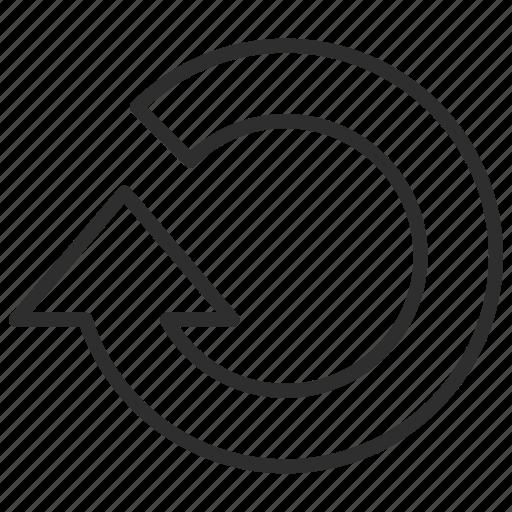 arrow, arrows, direction, repeat icon