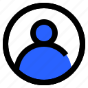 interface, player, profile, sign, user icon