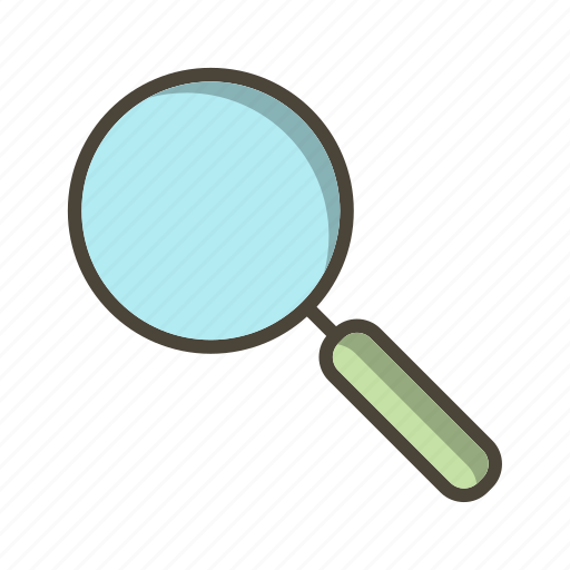 basic ui, find, magnifying glass, search icon