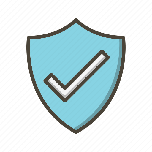 badge, basic ui, protection, shield, valid icon