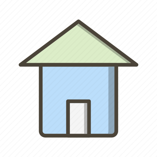 basic ui, building, home, home page, house icon