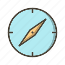 basic ui, compass, direction, location, navigation icon
