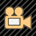 basic ui, camera, movie, multimedia, video icon