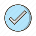 tick, valid, verified icon