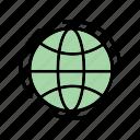 global, globe, web, world, worldwide icon