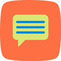chat, comment, communication, conversation, message, type, typing icon