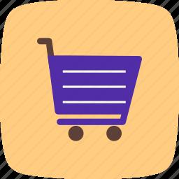 bag, basket, buy, cart, retail, shop, supermarket icon