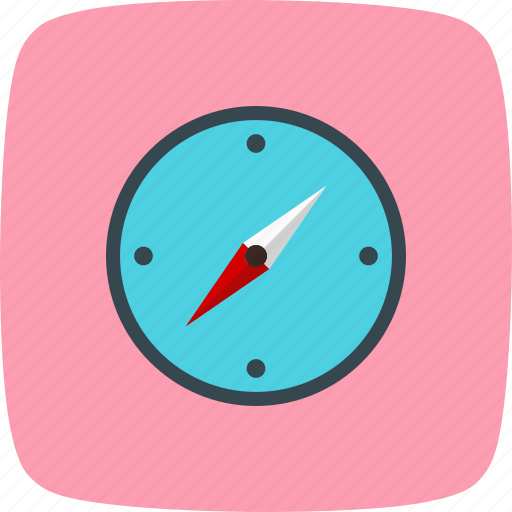 compass, direction, gps icon
