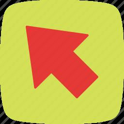arrow, cursor, mouse, point, pointer, selection icon