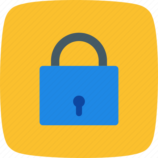 lock, password, protected icon