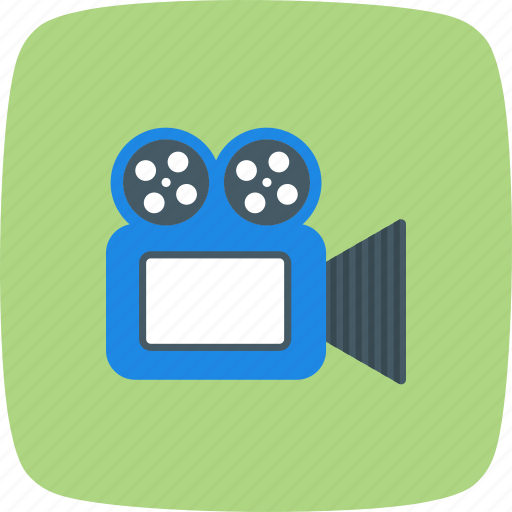 movie, video, video camera icon