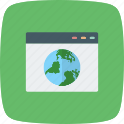 browser, internet, network, search, web, website, window icon