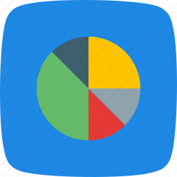 chart, data, flow, graph, growth, pie, stats icon