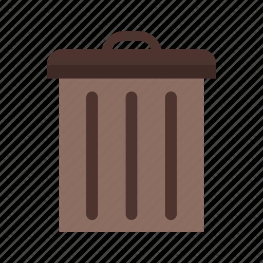 basket, delete, remove icon