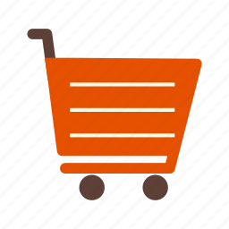 cart, online shopping, trolley icon