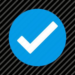 tick, valid, verified icon