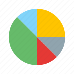 diagram, pie chart, statistics icon