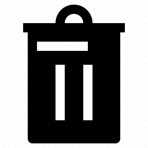 bin, delete, garbager, interface, remove, trash, user icon