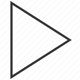 arrow, direction, forward, media, next, right, west icon
