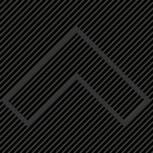 arrow, direction, north, top, up, upload, upward icon