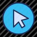 arrow, cursor, pointer, ui